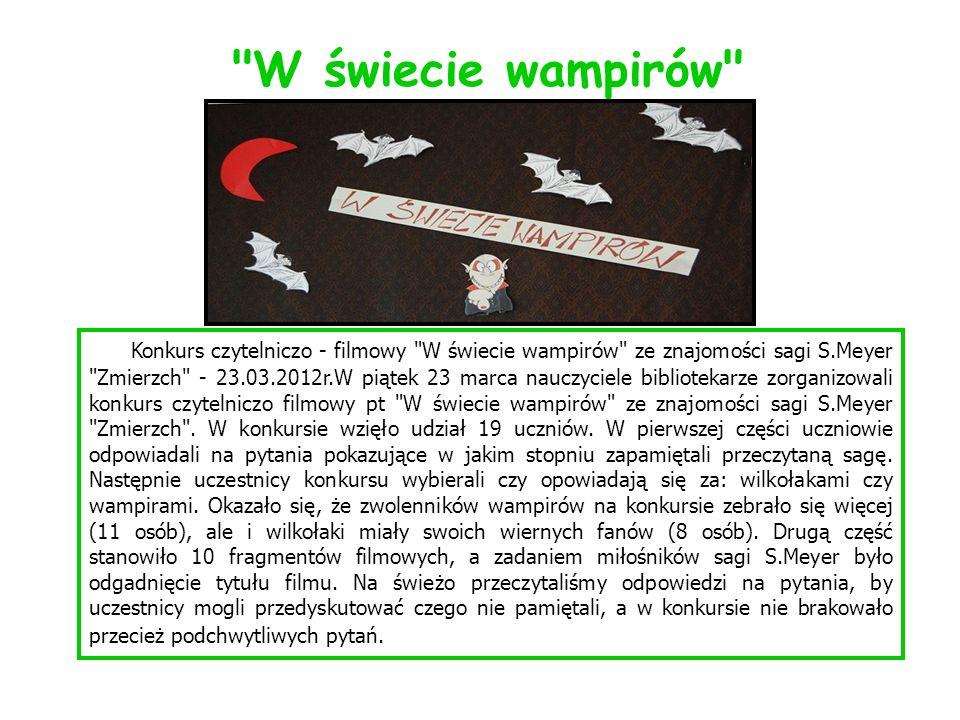 W świecie wampirów