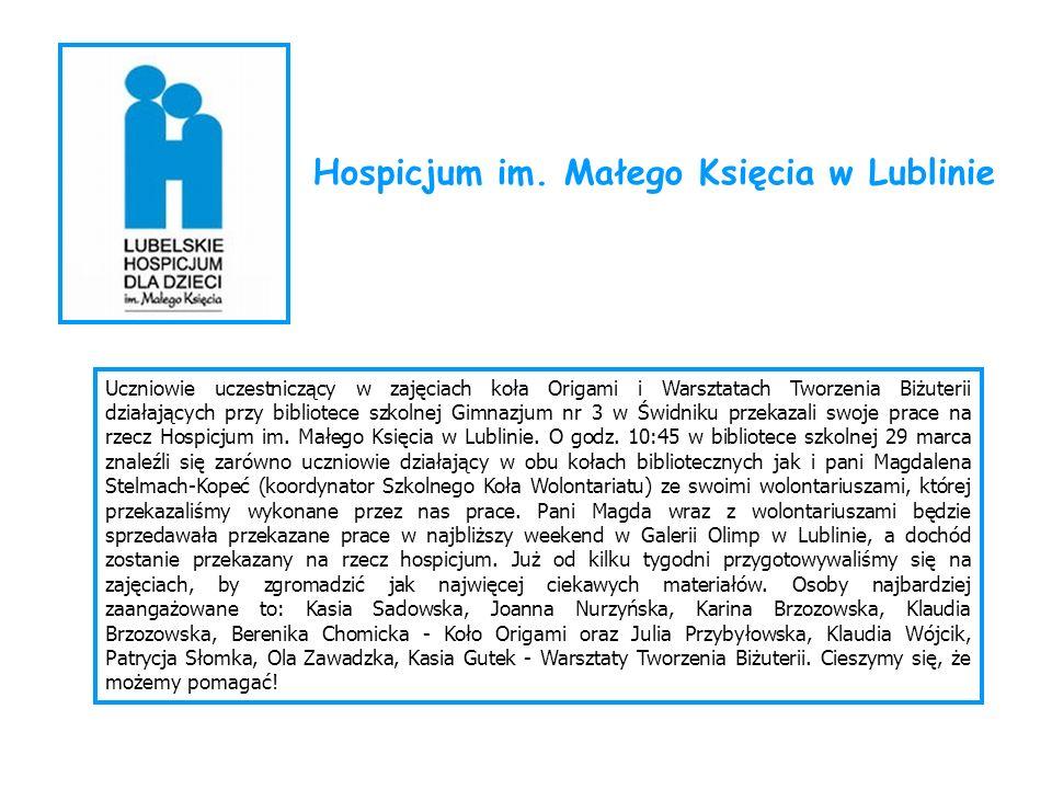 Hospicjum im. Małego Księcia w Lublinie