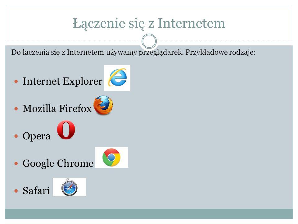 Łączenie się z Internetem