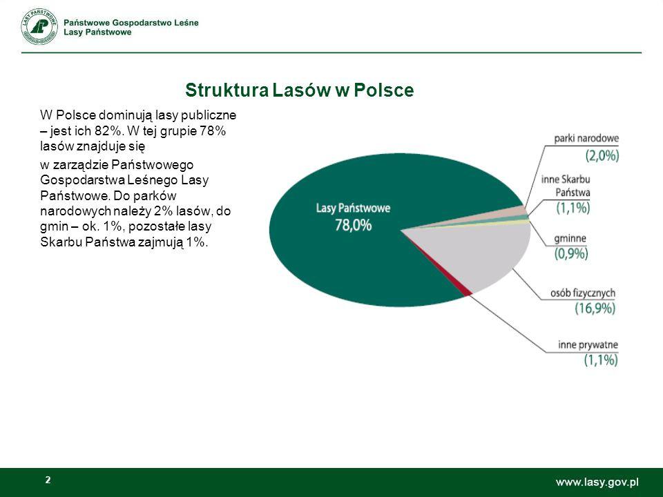 Struktura Lasów w Polsce