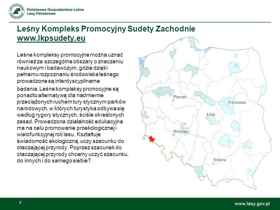 Leśny Kompleks Promocyjny Sudety Zachodnie www.lkpsudety.eu