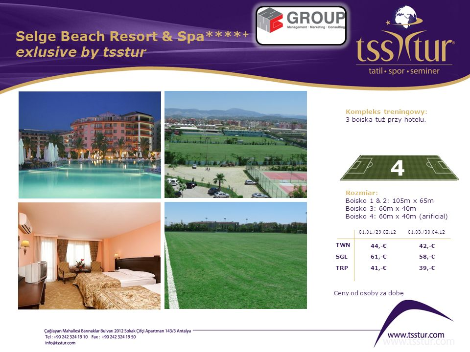 Selge Beach Resort & Spa****+ exlusive by tsstur