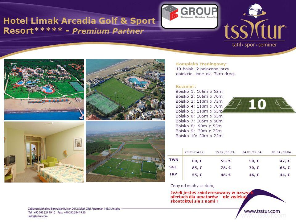 Hotel Limak Arcadia Golf & Sport Resort***** - Premium Partner