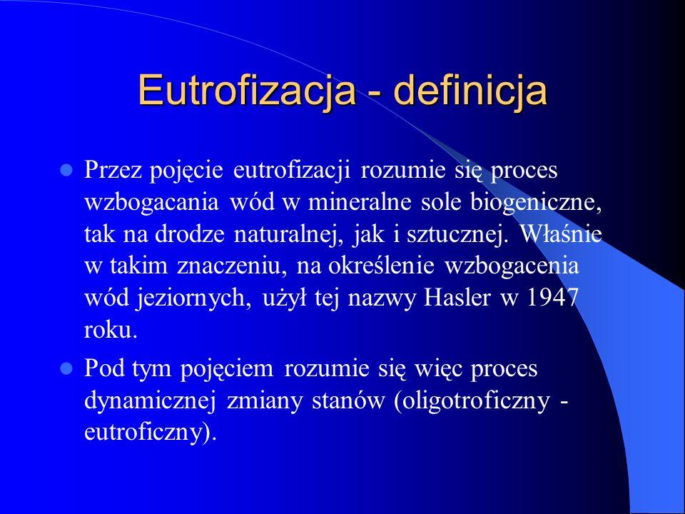 Eutrofizacja - definicja