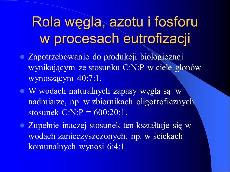 Rola węgla, azotu i fosforu w procesach eutrofizacji