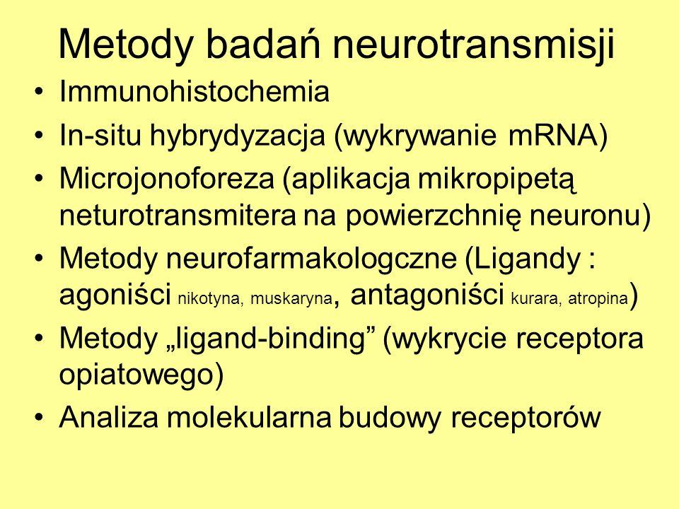 Metody badań neurotransmisji