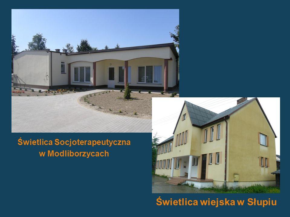 Świetlica Socjoterapeutyczna Świetlica wiejska w Słupiu