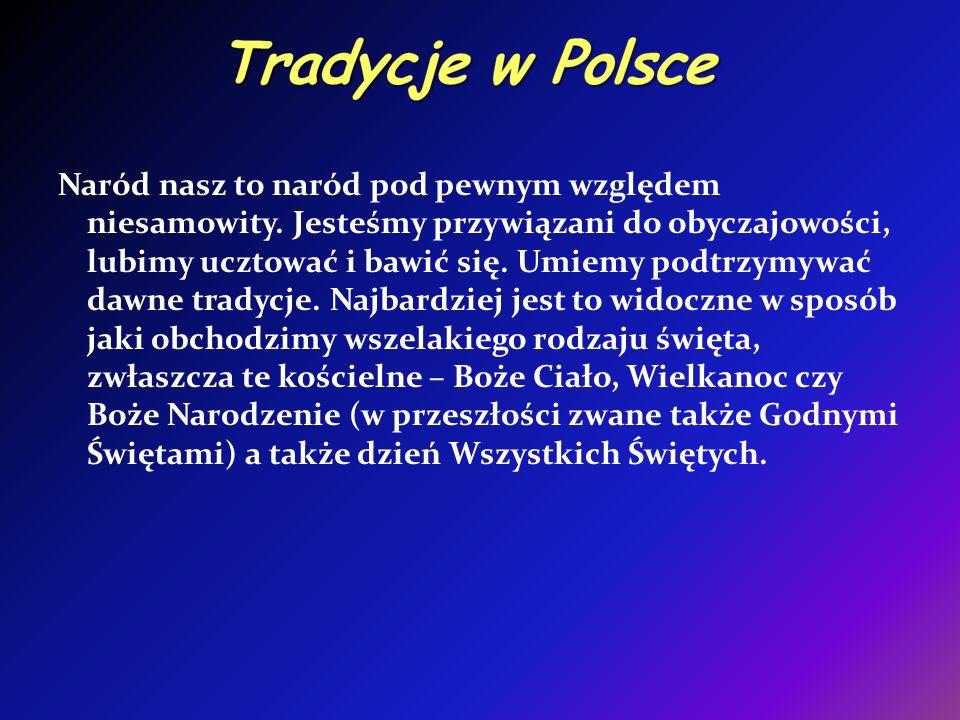 Tradycje w Polsce