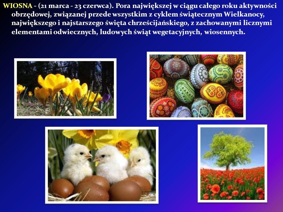 WIOSNA - (21 marca - 23 czerwca)