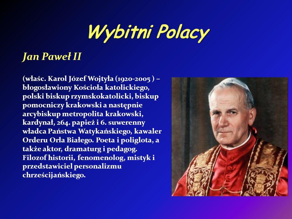 Wybitni Polacy Jan Paweł II