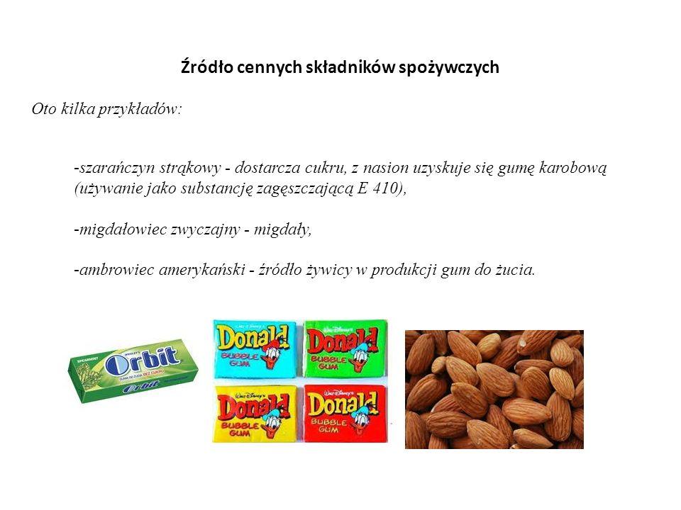 Źródło cennych składników spożywczych