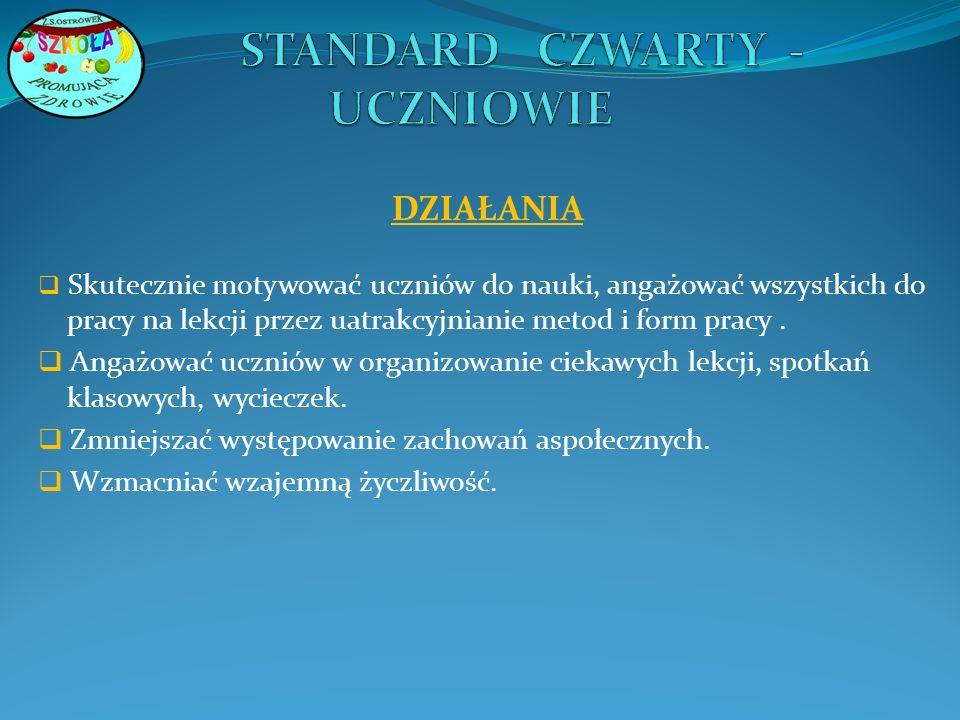 STANDARD CZWARTY - UCZNIOWIE