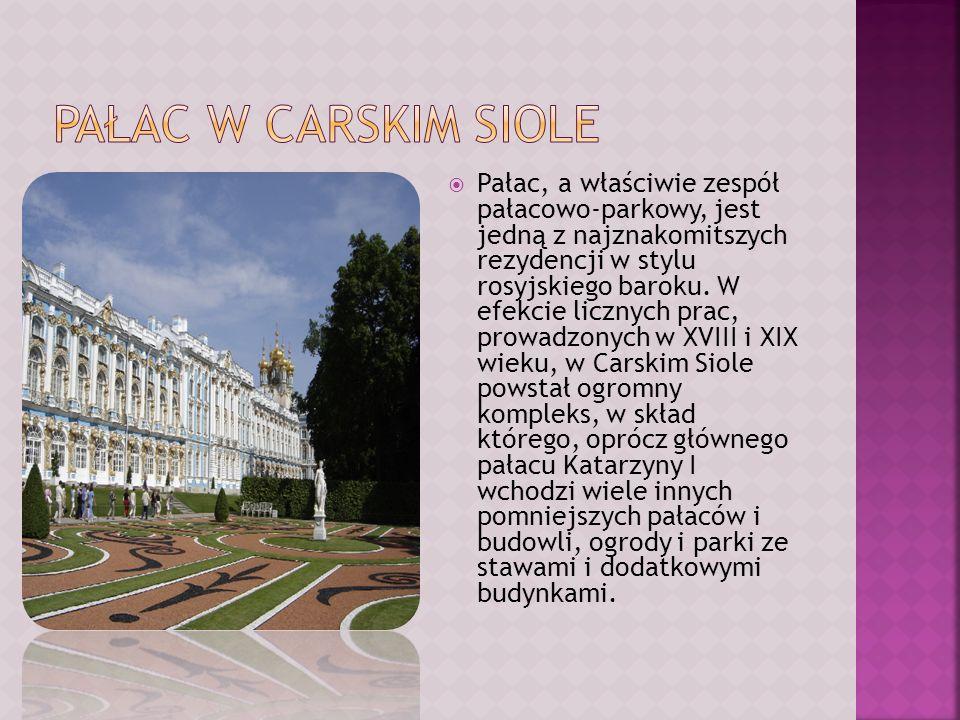 Pałac w Carskim Siole