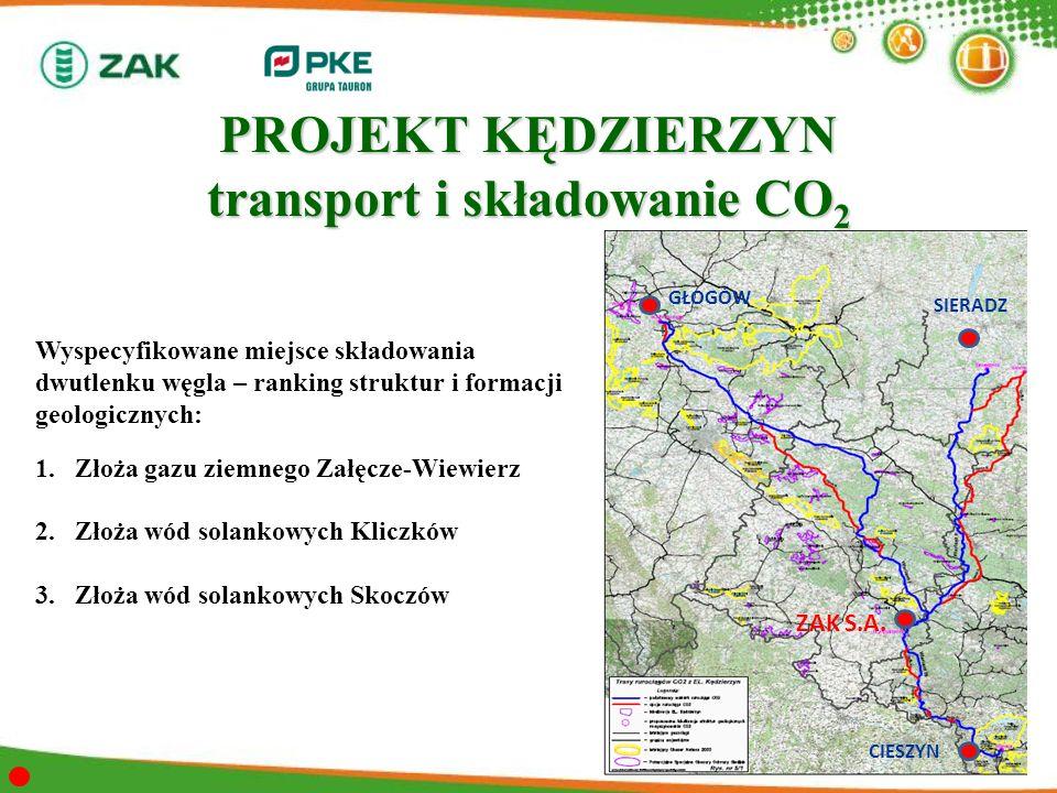 PROJEKT KĘDZIERZYN transport i składowanie CO2