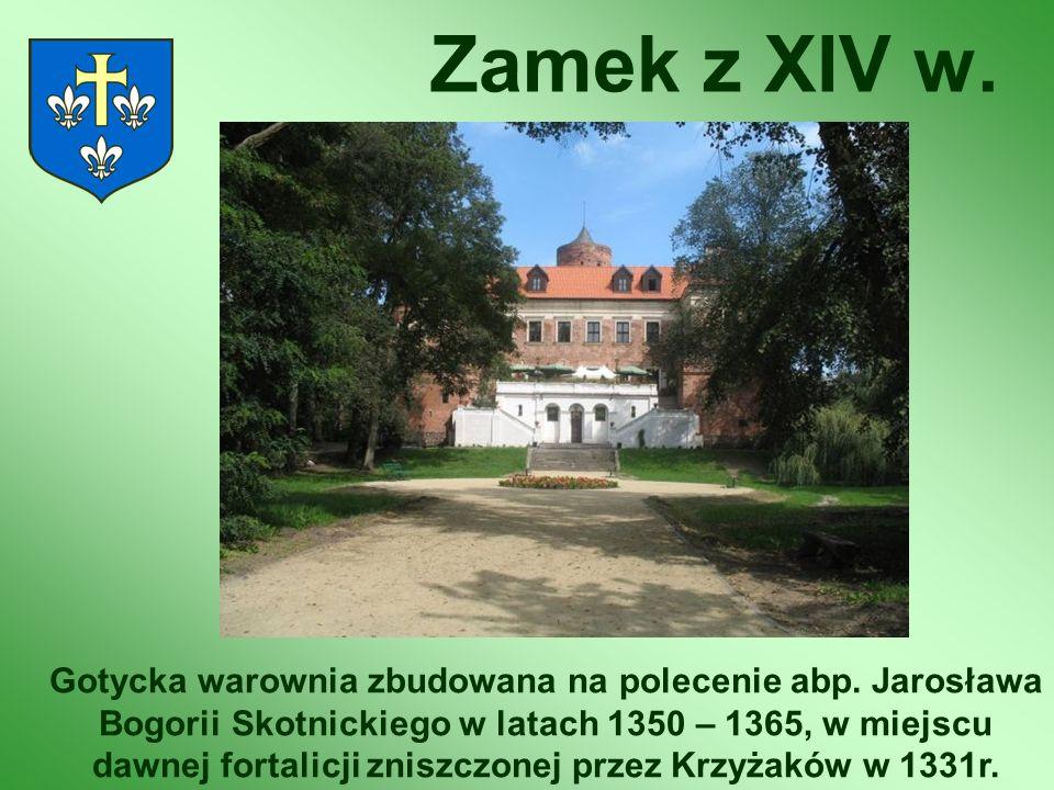 Zamek z XIV w.