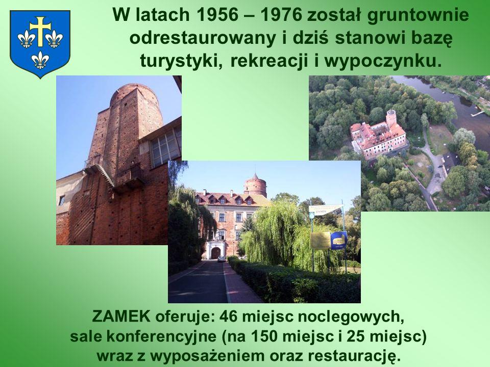 W latach 1956 – 1976 został gruntownie odrestaurowany i dziś stanowi bazę turystyki, rekreacji i wypoczynku.