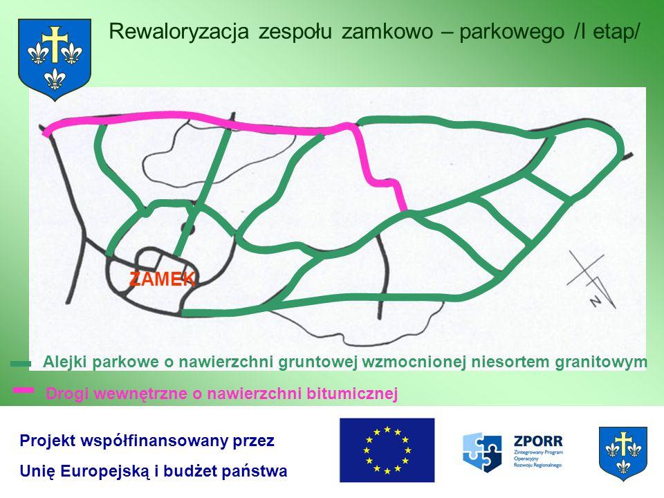 Rewaloryzacja zespołu zamkowo – parkowego /I etap/