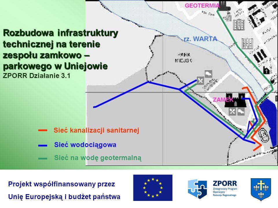 Rozbudowa infrastruktury technicznej na terenie zespołu zamkowo – parkowego w Uniejowie