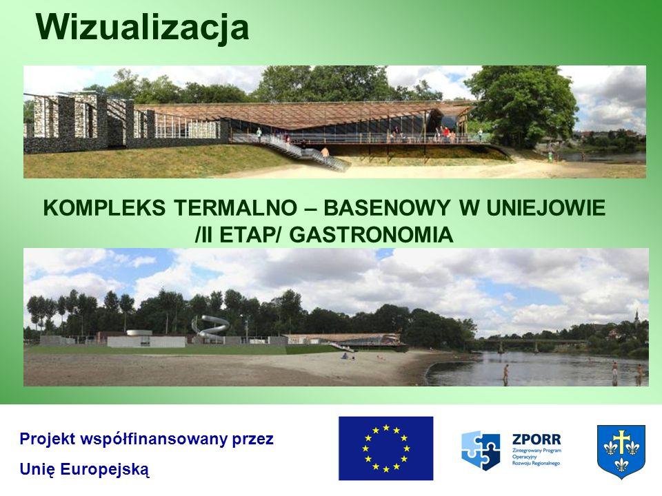 KOMPLEKS TERMALNO – BASENOWY W UNIEJOWIE /II ETAP/ GASTRONOMIA