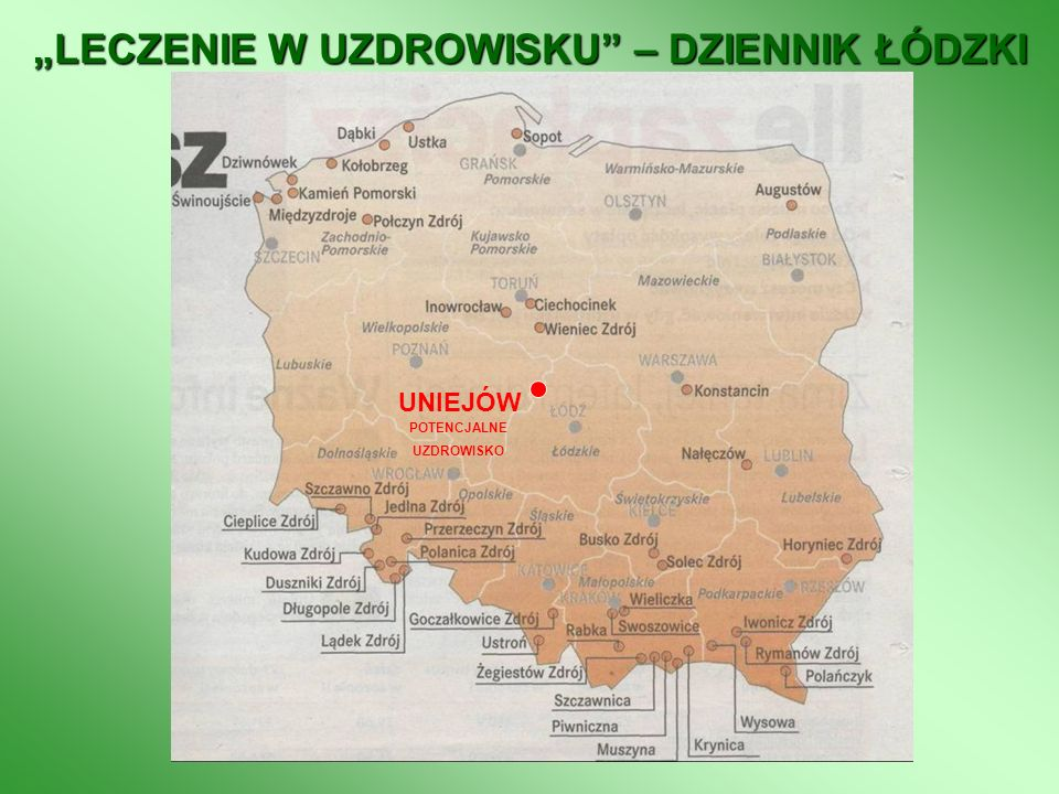 """""""LECZENIE W UZDROWISKU – DZIENNIK ŁÓDZKI"""
