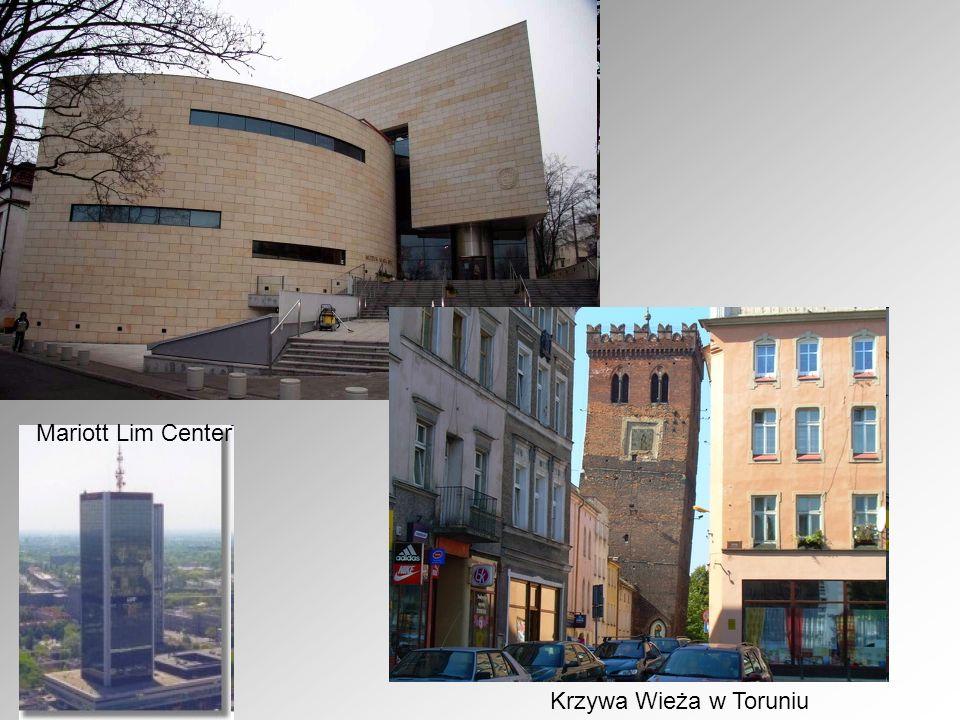 Mariott Lim Center Krzywa Wieża w Toruniu