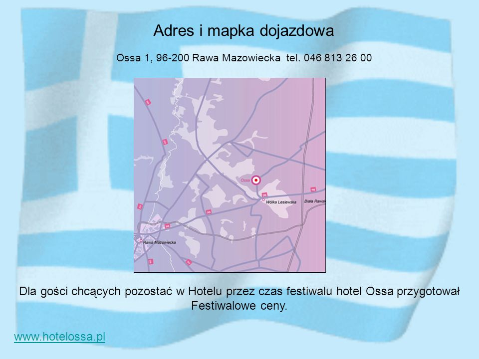Adres i mapka dojazdowa
