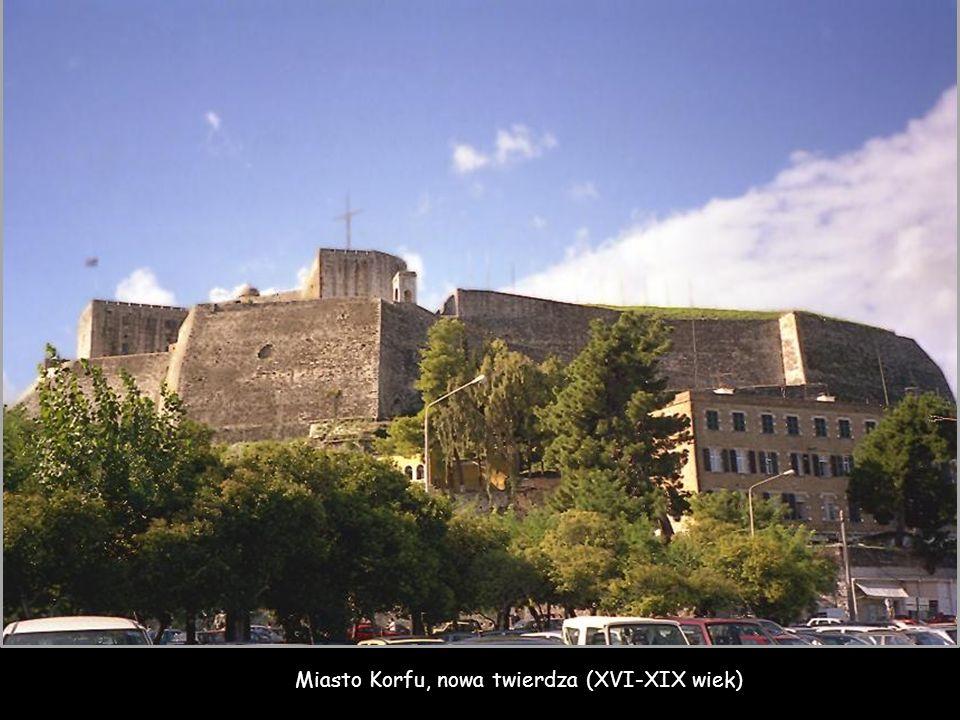 Miasto Korfu, nowa twierdza (XVI-XIX wiek)
