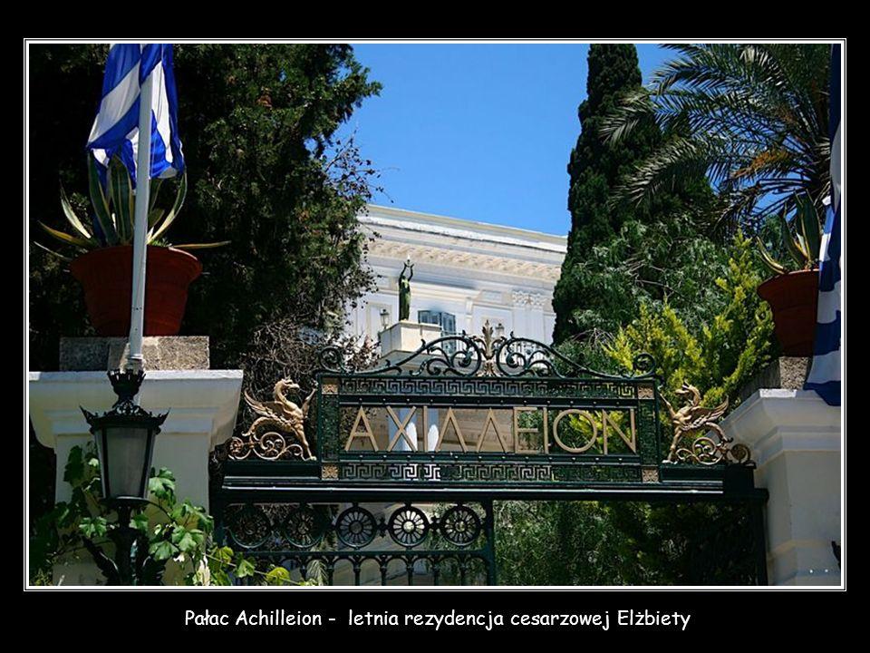 Pałac Achilleion - letnia rezydencja cesarzowej Elżbiety