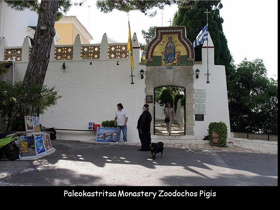 Paleokastritsa Monastery Zoodochos Pigis