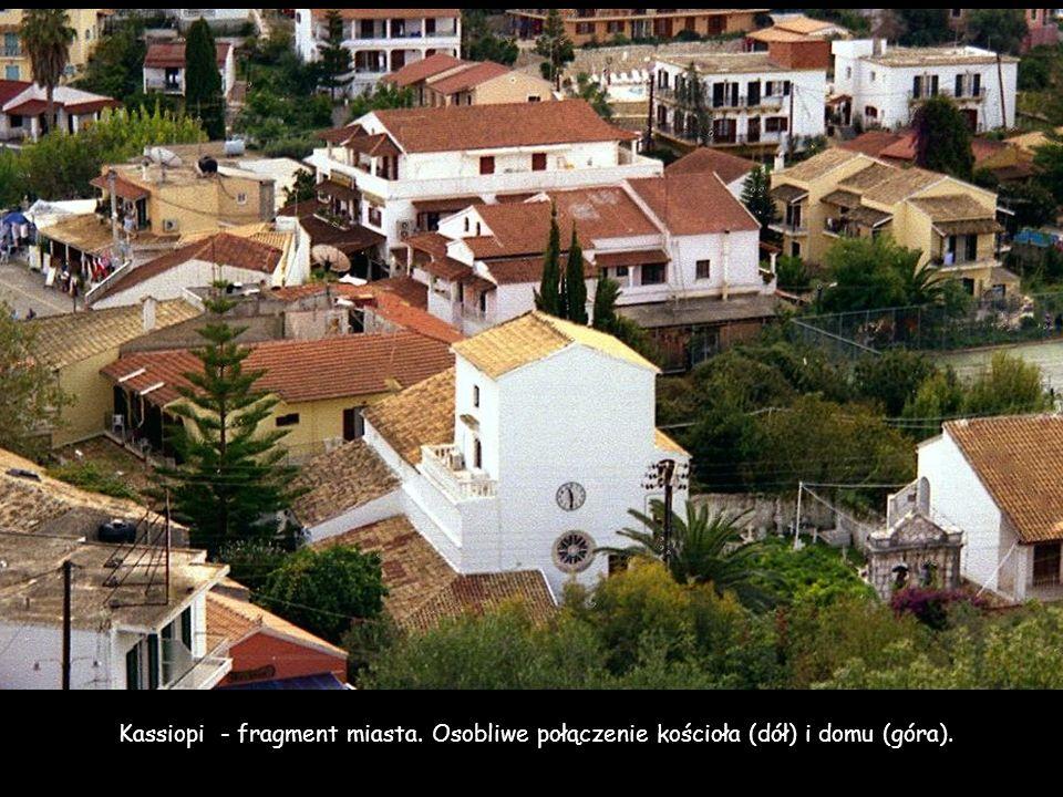 Kassiopi - fragment miasta
