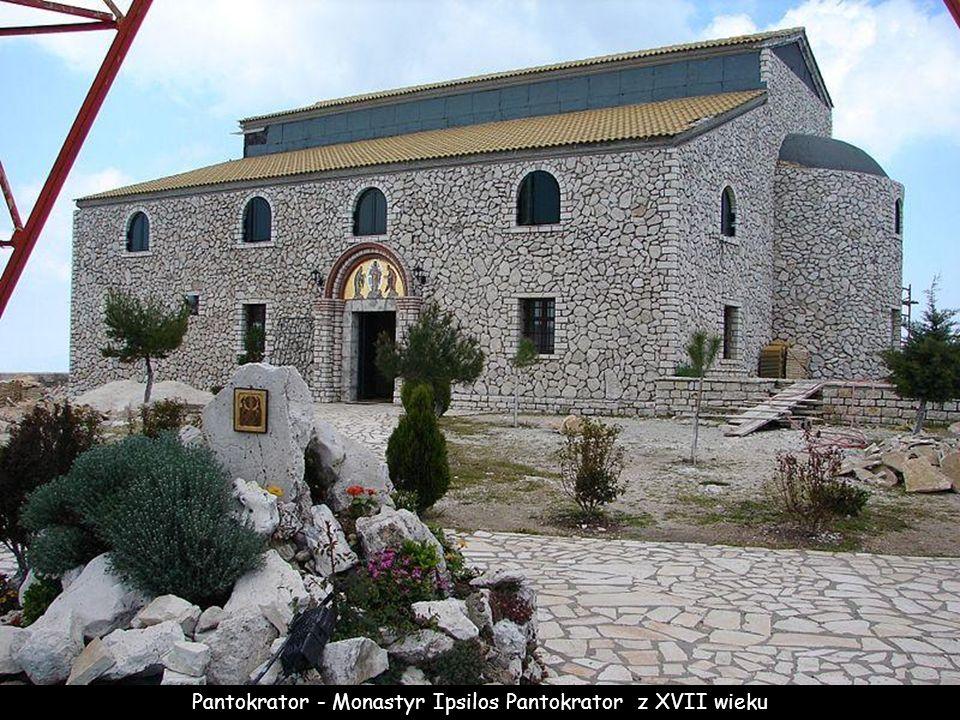 Pantokrator - Monastyr Ipsilos Pantokrator z XVII wieku