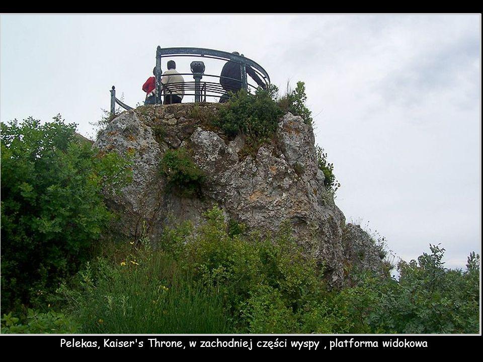 Pelekas, Kaiser s Throne, w zachodniej części wyspy , platforma widokowa