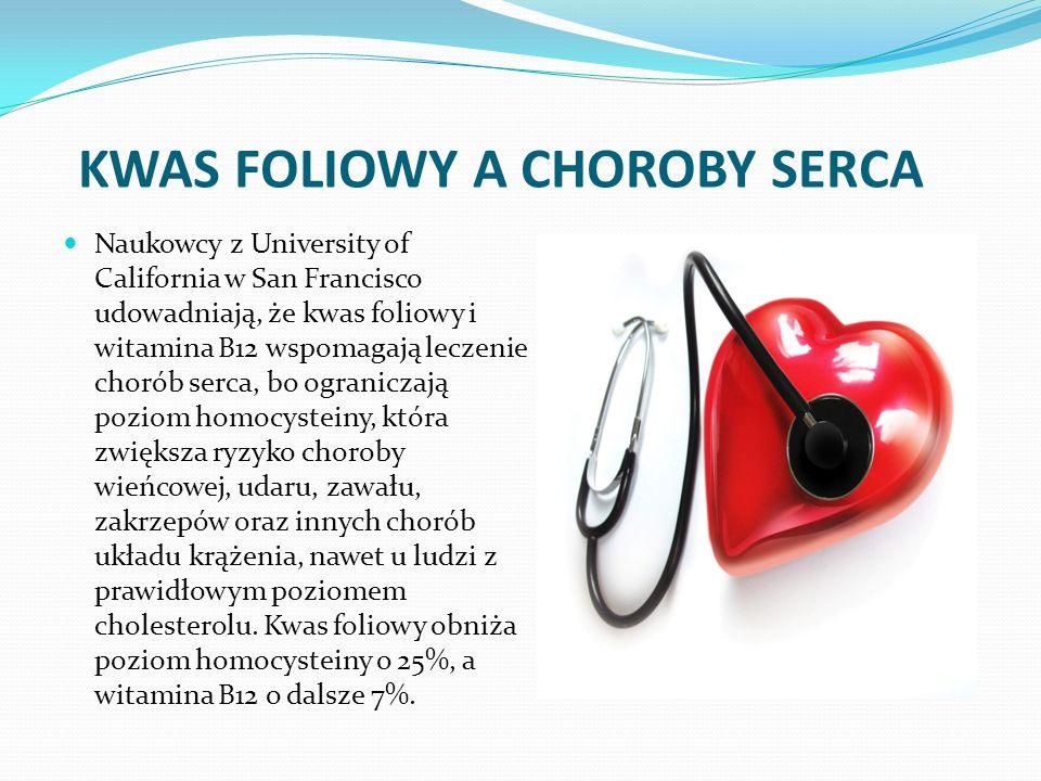 KWAS FOLIOWY A CHOROBY SERCA