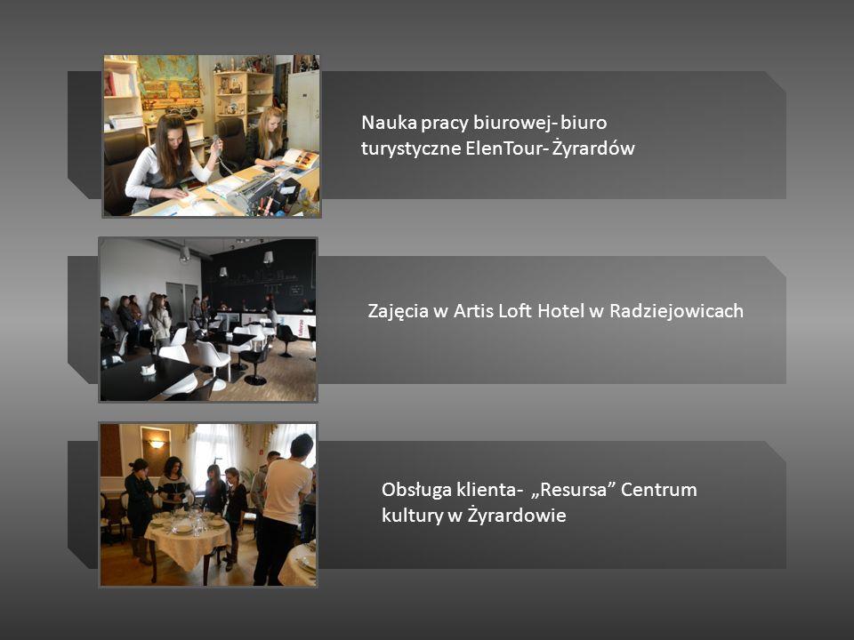 Nauka pracy biurowej- biuro turystyczne ElenTour- Żyrardów