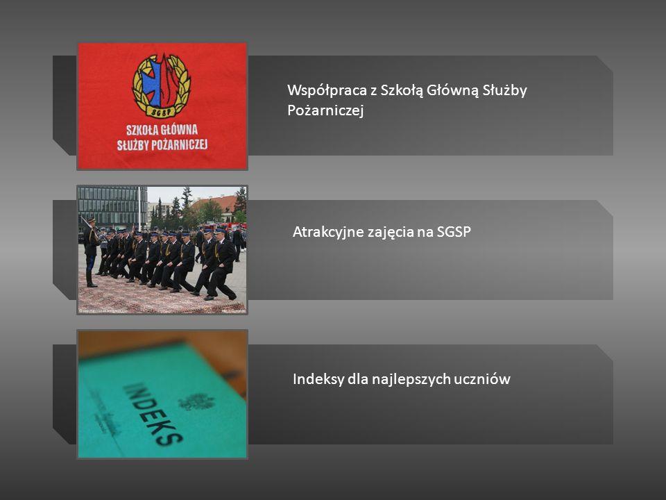 Współpraca z Szkołą Główną Służby Pożarniczej