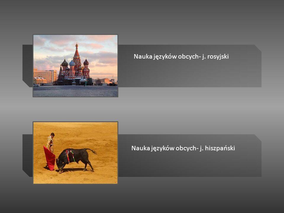 Nauka języków obcych- j. rosyjski