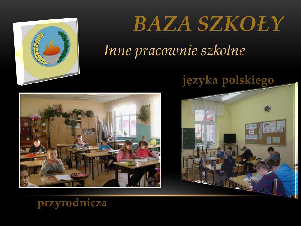 BAZA SZKOŁY Inne pracownie szkolne języka polskiego przyrodnicza