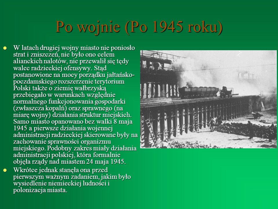 Po wojnie (Po 1945 roku)