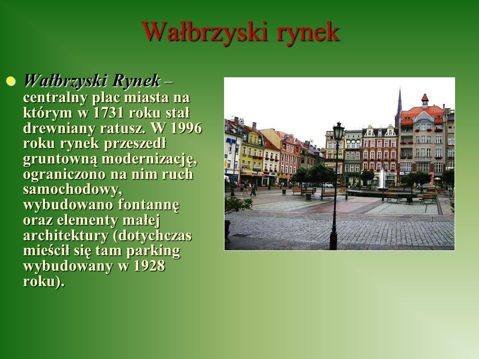 Wałbrzyski rynek