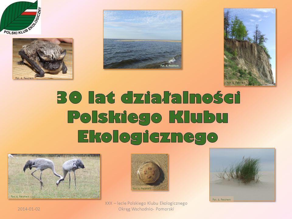 30 lat działalności Polskiego Klubu Ekologicznego