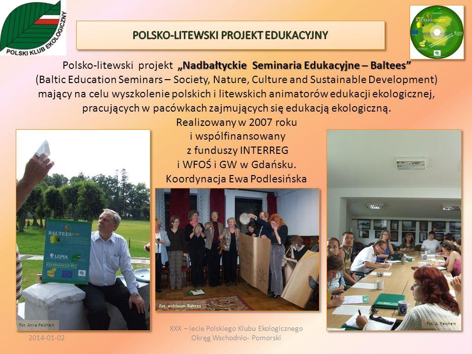 POLSKO-LITEWSKI PROJEKT EDUKACYJNY