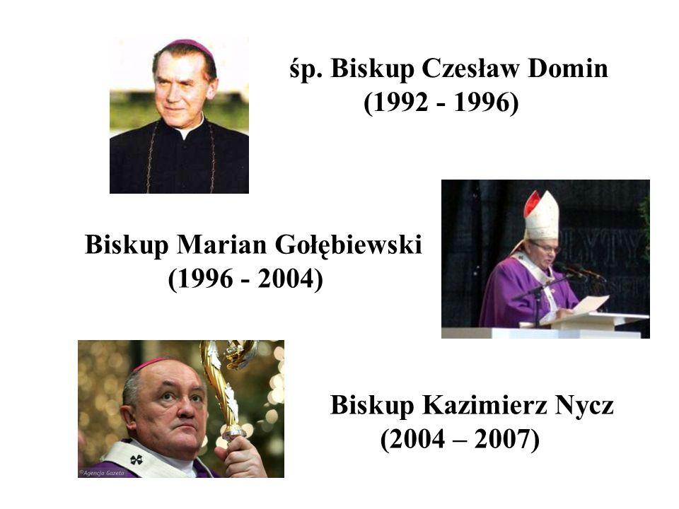 śp. Biskup Czesław Domin (1992 - 1996)