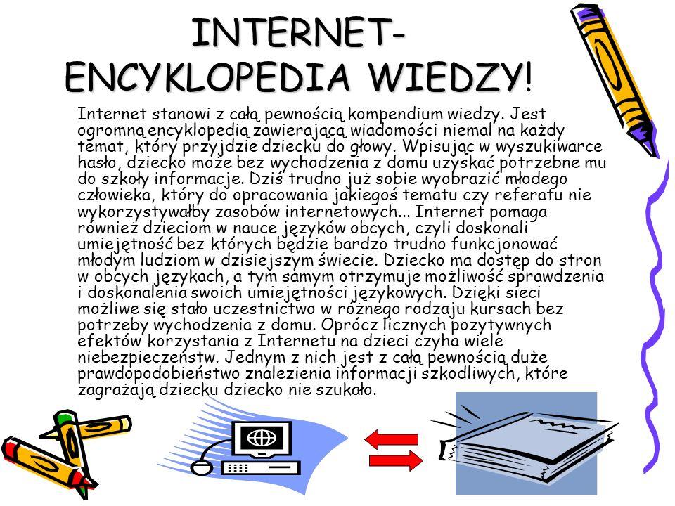 INTERNET-ENCYKLOPEDIA WIEDZY!
