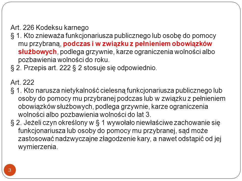 Art. 226 Kodeksu karnego