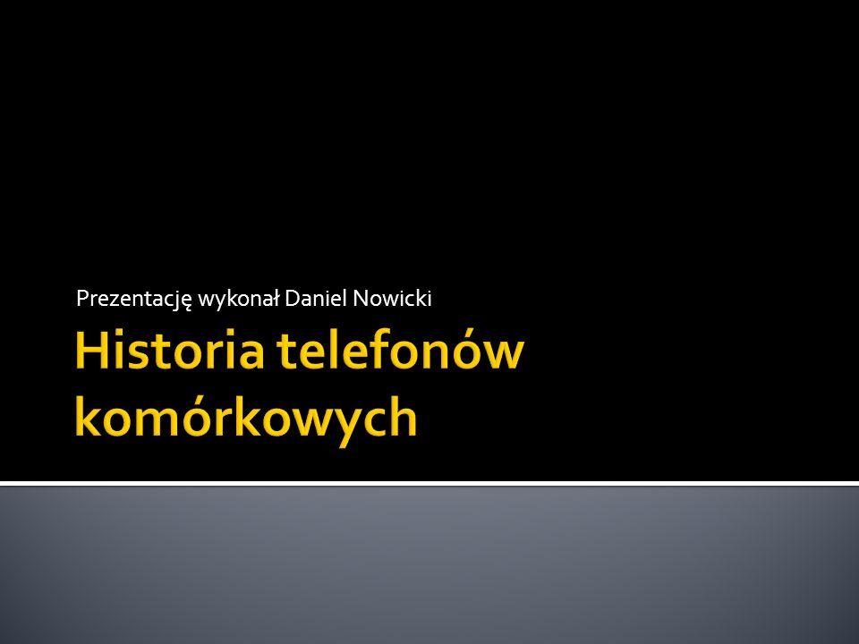 Historia telefonów komórkowych