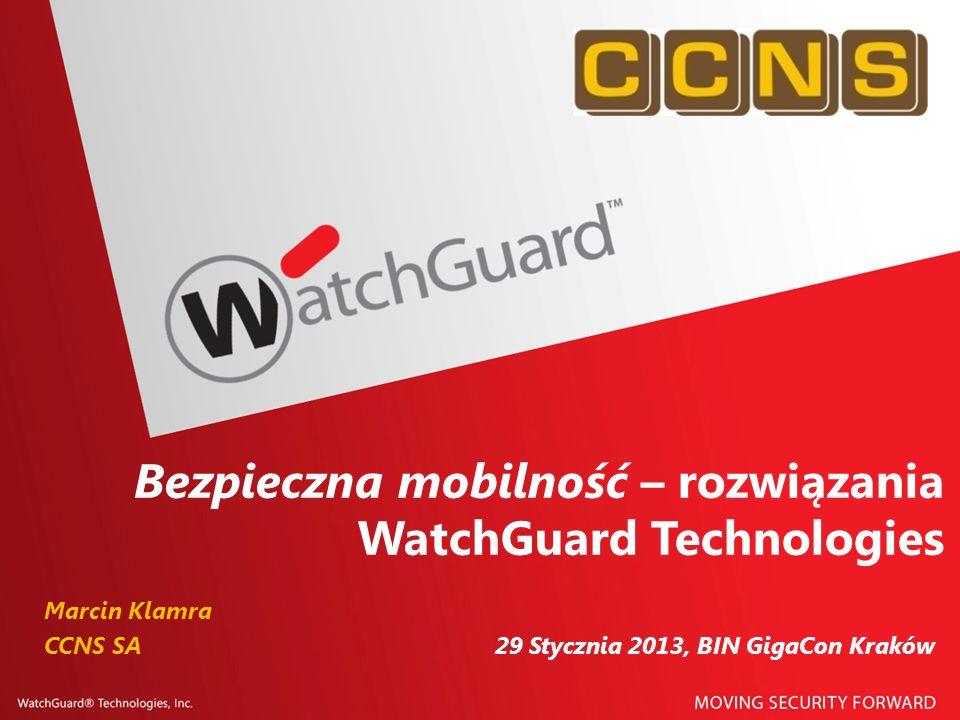 Bezpieczna mobilność – rozwiązania WatchGuard Technologies