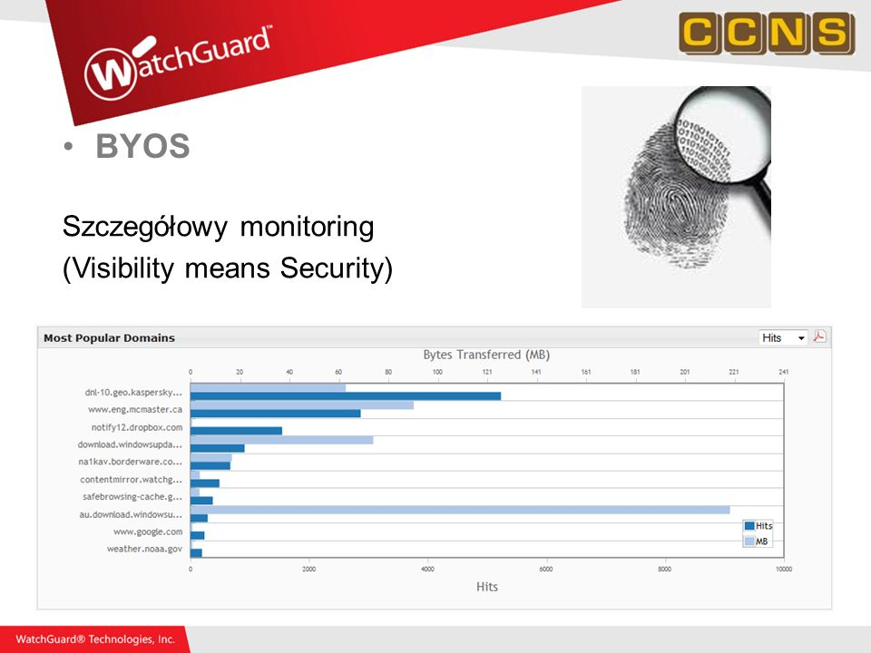 BYOS Szczegółowy monitoring (Visibility means Security)