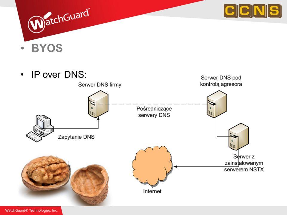 BYOS IP over DNS: