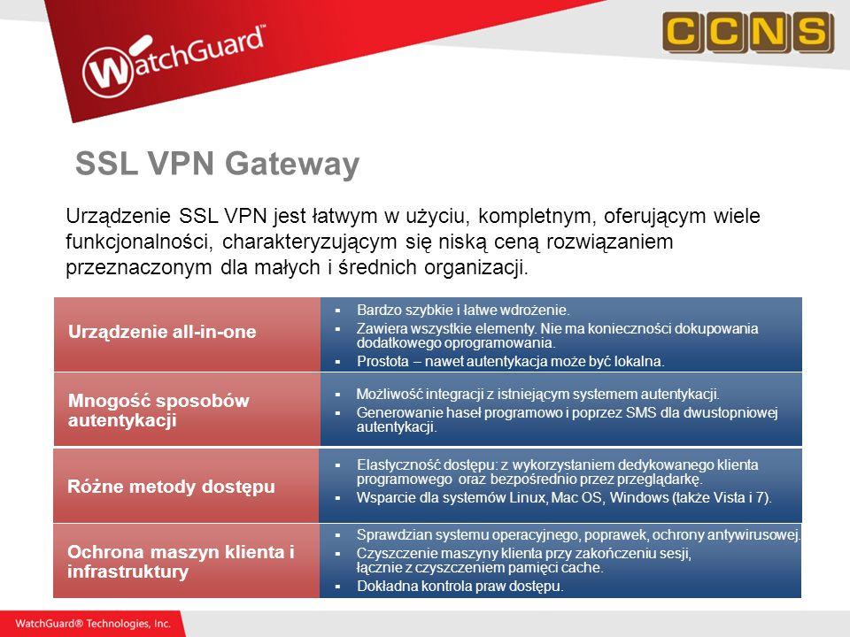 SSL VPN Gateway