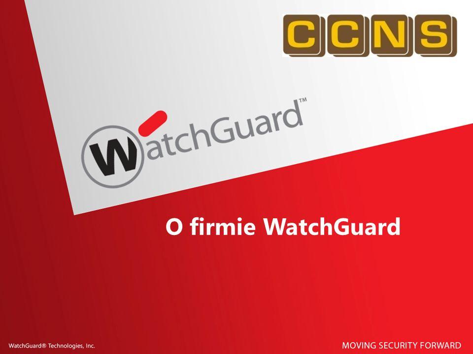 O firmie WatchGuard